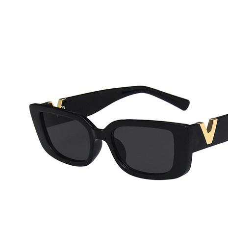 lunettes de soleil carrées à petit cadre NHKD322659's discount tags