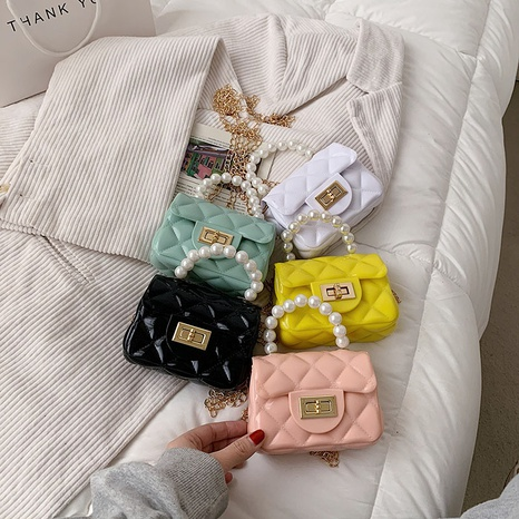 new trendy fashion mini jelly bag  NHLH322983's discount tags