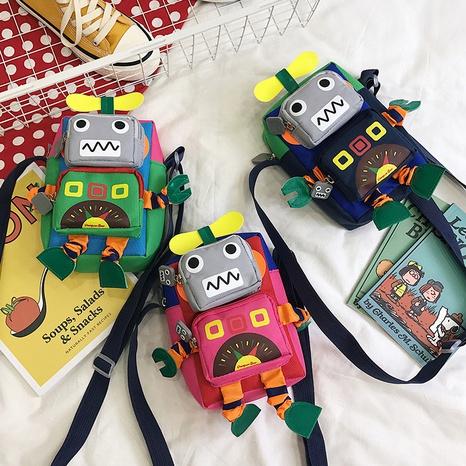 Sac de téléphone portable mignon robot Bengdi porte-monnaie sac de messager NHTG322995's discount tags