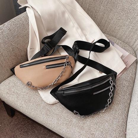 sac à bandoulière à bandoulière en chaîne de sports de loisirs NHTG323022's discount tags