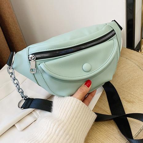 Sac à bandoulière de sport de couleur unie à la mode coréenne NHTG323026's discount tags