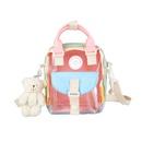 Korean transparent shoulder messenger portable bag NHTG323030