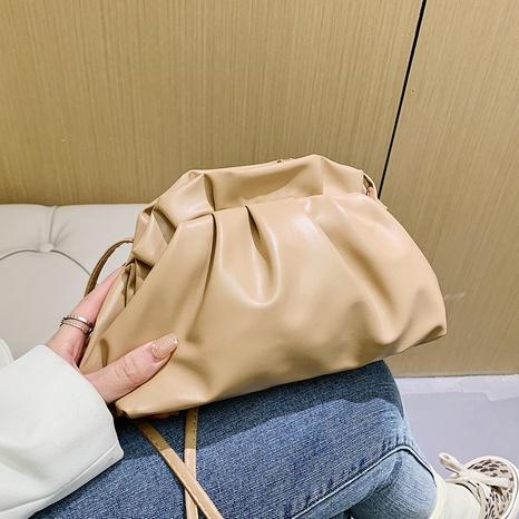 sac portable en forme de nuage de couleur unie NHRU323053's discount tags