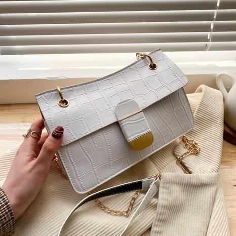 Petit sac carré à une épaule à chaîne de mode NHRU323068's discount tags