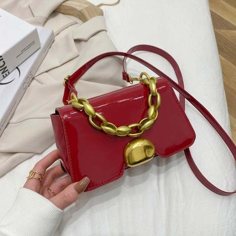 sac à bandoulière à chaîne en métal décontracté à la mode NHRU323075's discount tags