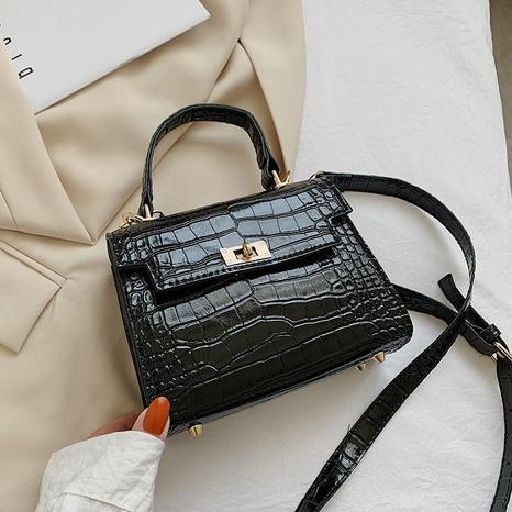 sac à bandoulière à la mode simple en métal NHRU323077's discount tags