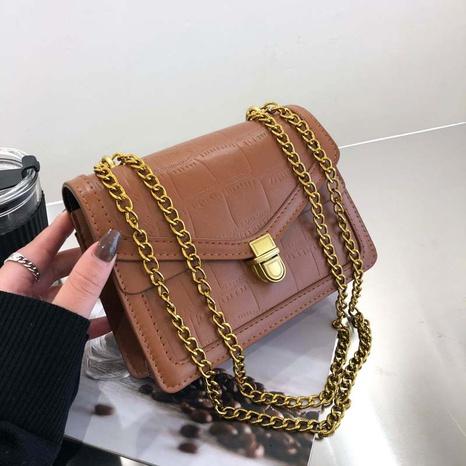 petit sac à bandoulière simple chaîne en métal NHRU323086's discount tags