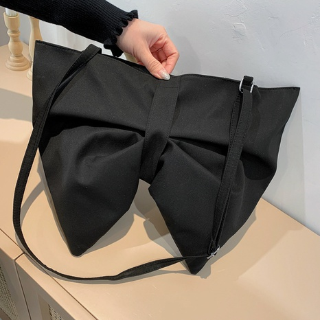 sac à bandoulière de grande capacité à nœud papillon NHRU323090's discount tags