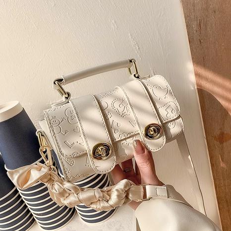 sac carré à bandoulière fashion twist messenger NHJZ323134's discount tags