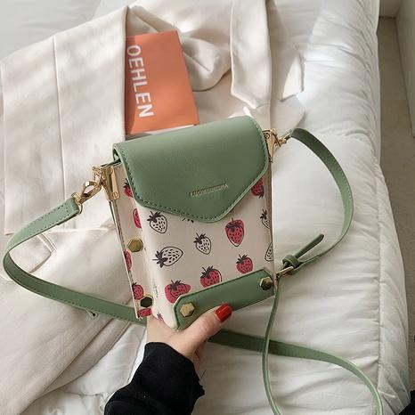 bolso de mensajero de hombro cuadrado de moda NHJZ323136's discount tags