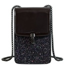 chain shoulder messenger patent leather sequins fashion bag NHJZ323141