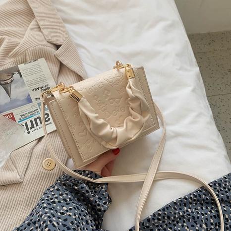 sac carré de couleur unie à la mode NHJZ323145's discount tags