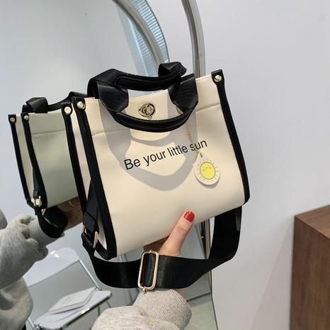 sac à bandoulière rétro couleur unie NHJZ323167's discount tags
