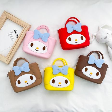 Monedero portátil del teléfono móvil del bolso del mensajero de Corea del bolso del silicón de los niños NHTG323221's discount tags