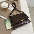 Korean fashion patent leather shoulder bag NHLH323239