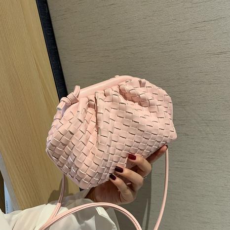 sac à bandoulière nuage tissé à la mode NHJZ323273's discount tags
