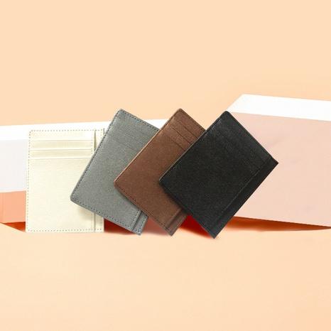 Monedero coreano ultrafino del pedazo de la tarjeta del tenedor de la tarjeta al por mayor NHBN323278's discount tags