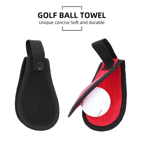 Lingettes de golf coréen nouvelle boucle de nettoyage de taille de golf en gros NHBN323275's discount tags