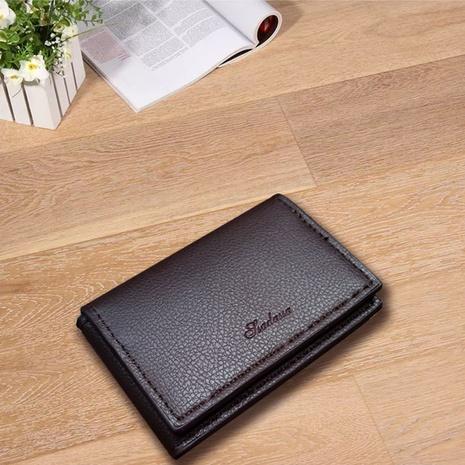 Korean buckle coin purse multi-card litchi card bag NHBN323280's discount tags