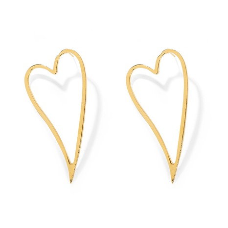 Conjunto de pendientes coreanos simples en forma de corazón NHCU323383's discount tags