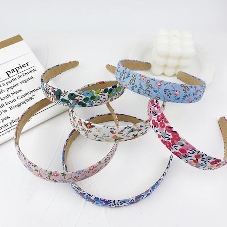 retro fashion fabric floral headband set NHMO323424's discount tags