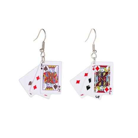 boucles d'oreilles simples à la mode pour cartes à jouer NHMO323438's discount tags