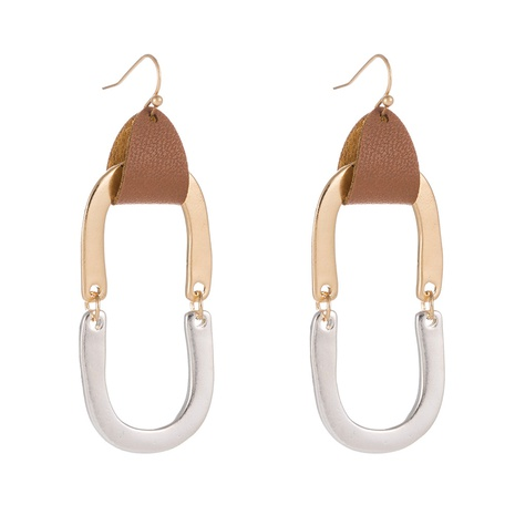 Mode einfache geometrische Ohrringe NHAN323486's discount tags
