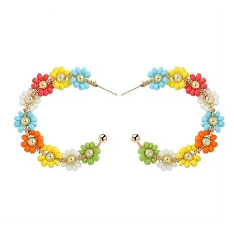 Geometrische Ohrringe Blumenlegierung Ohrringe NHJQ323530's discount tags