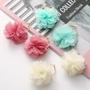 fashion chiffon cloth lace flower multilayer earrings NHJJ323555