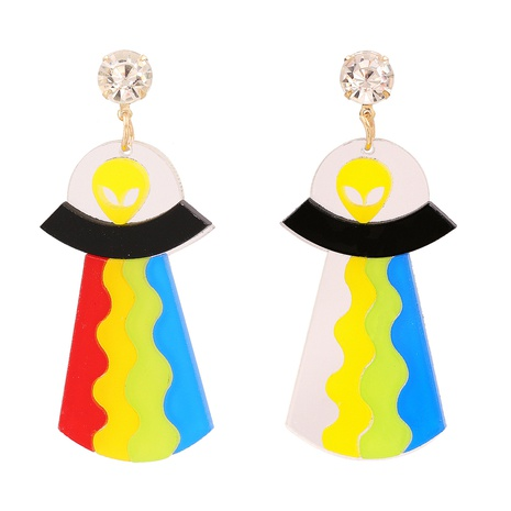 Acrylic Acetate Plate Earrings  NHJJ323564's discount tags