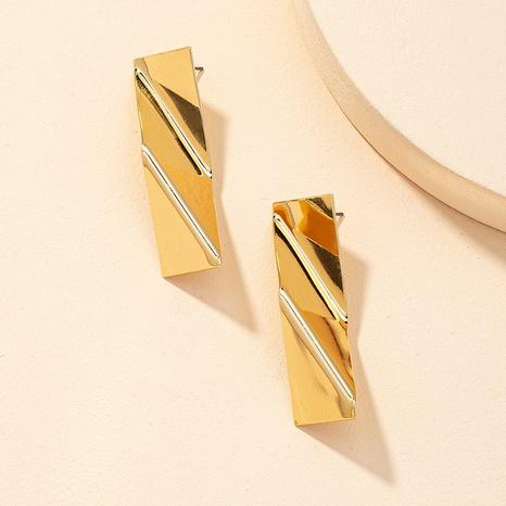 geometrische Metallohrringe der Retro-Mode NHGU323651's discount tags