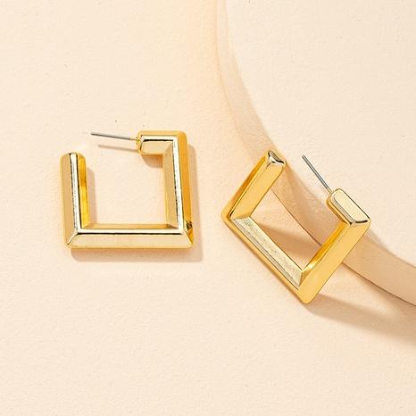 conjunto de pendientes geométricos de moda retro NHGU323656's discount tags
