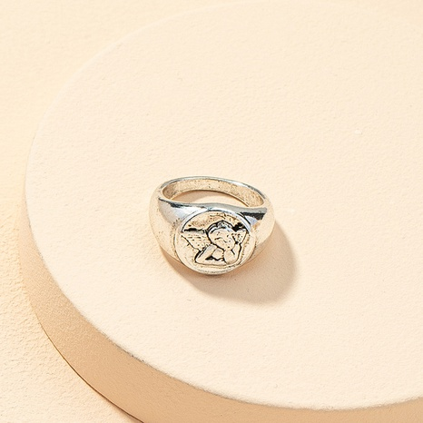 wholesale retro simple alloy ring NHGU323669's discount tags