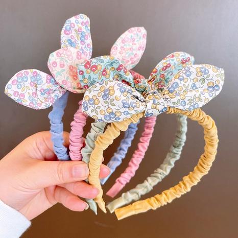 Koreanische gebrochene Blumen Macarons Farbe Bogen Stirnband NHHD323684's discount tags