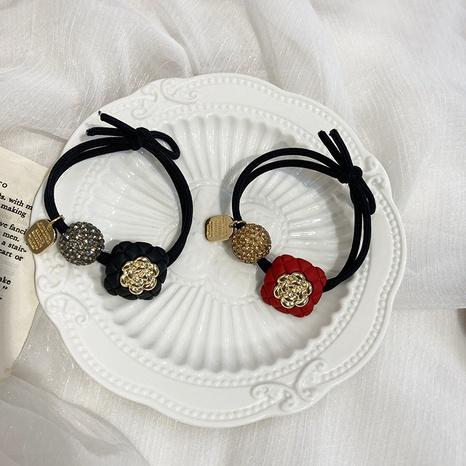 Scrunchies de pelo de diamantes de imitación de moda coreana NHWF323779's discount tags