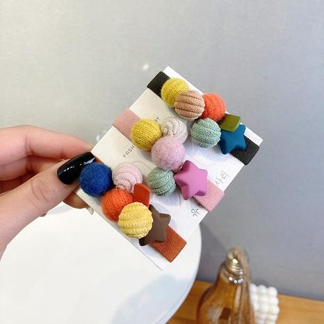 Scrunchies coreanos para el cabello color caramelo NHWF323794's discount tags