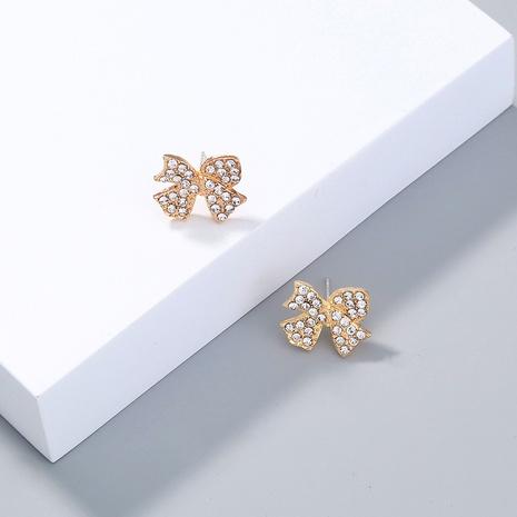 pendientes de mariposa con diamantes de moda NHAN323812's discount tags