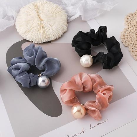 nuevos coleteros de pelo de perlas de imitación de moda NHMS323820's discount tags
