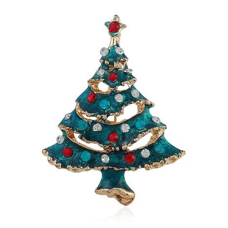 kreative Mode goldene Weihnachtsbaumbrosche NHKQ323855's discount tags
