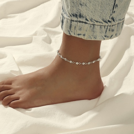 Fashion New Retro Bohemian Carved Heart Anklet NHKQ323856's discount tags