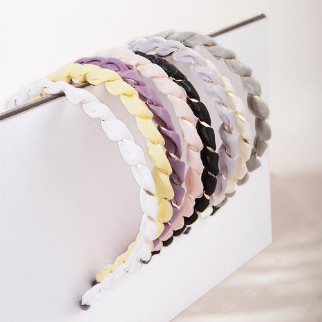 diadema de color caramelo simple de moda NHGE323910's discount tags