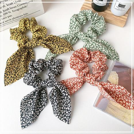 Scrunchies de pelo a rayas de satén retro coreanos NHOF323924's discount tags