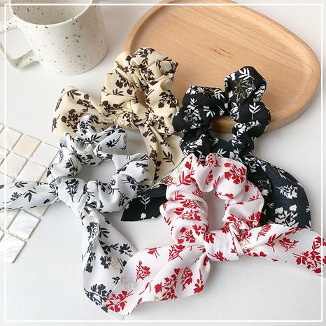 Scrunchies florales retro coreanos para el cabello NHOF323927's discount tags