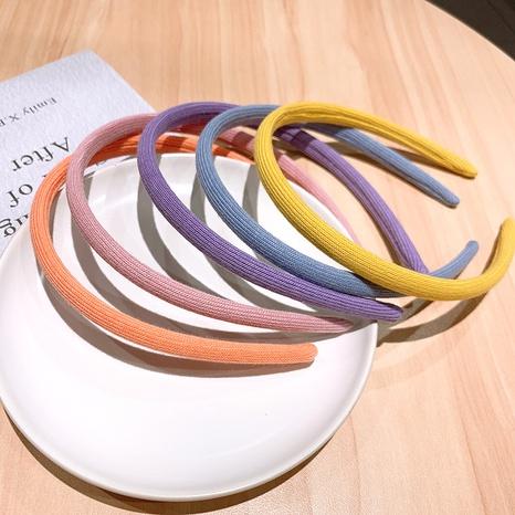 Koreanisches niedliches einfaches Farbstirnband NHSA323933's discount tags