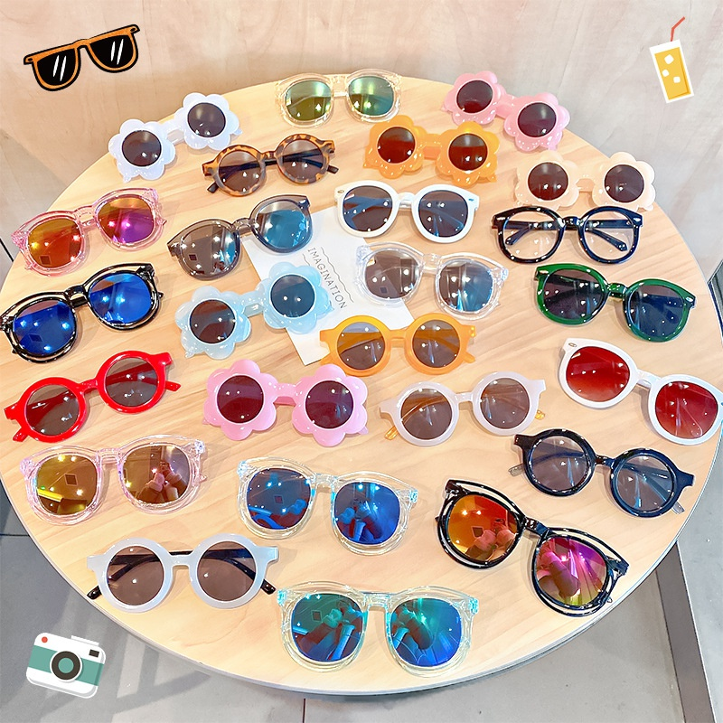Korean fashion childrens sunglasses  NHNA323944