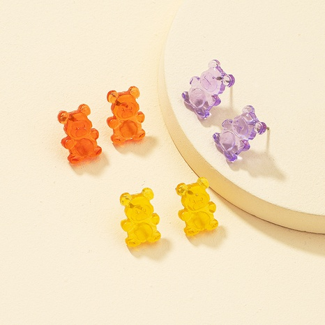 fashion simple animal resin earring NHQJ323963's discount tags