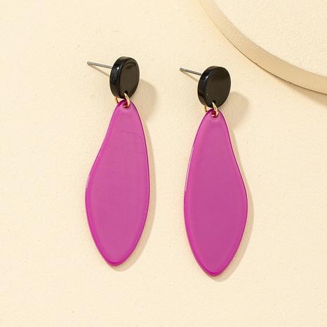 retro acrylic resin geometric earrings NHQJ323969's discount tags