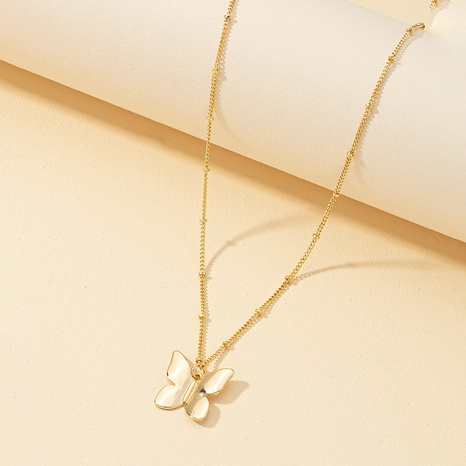 Mode einfache Schmetterling Anhänger Halskette NHQJ323971's discount tags