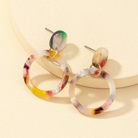 fashion acrylic resin geometric earrings NHQJ323976's discount tags