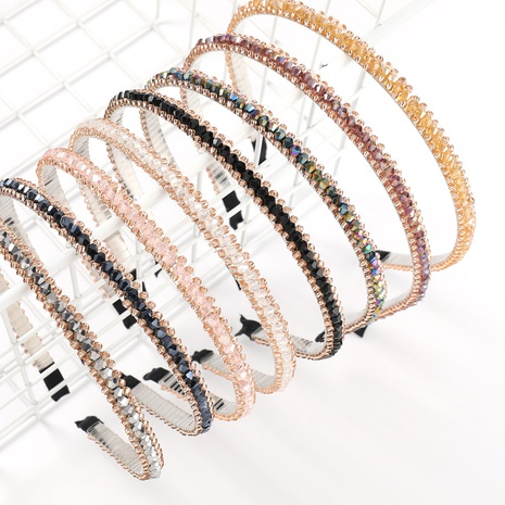 banda de pelo de aleación de acrílico simple de moda NHJE323988's discount tags
